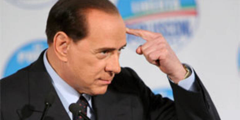 Berlusconis erstes Fettnäpfchen nach dem Wahlsieg
