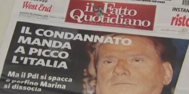 Berlusconi stürtzt Italien in Regierungskrise