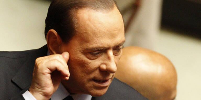 Kein Steuer-Prozess gegen Berlusconi