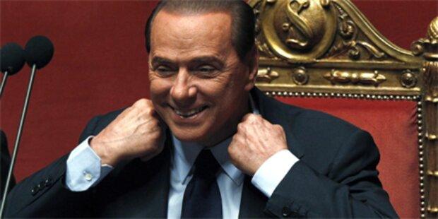 Berlusconi warnt vor seinem Sturz