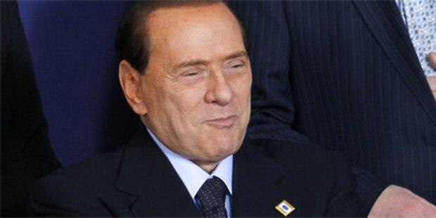 Foto von Berlusconi bei Sex-Orgie geklaut