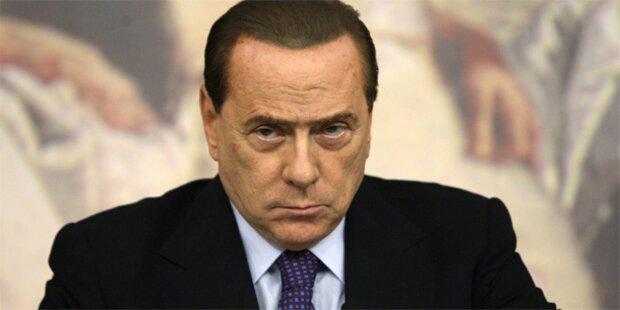 Berlusconi zittert vor Vertrauensvotum