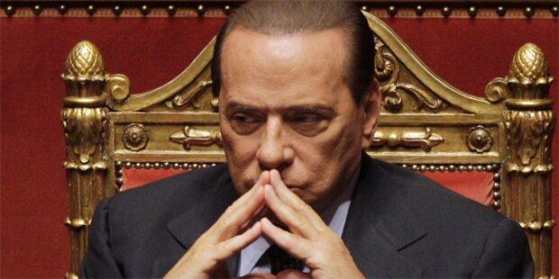 Berlusconi kämpft um seine Regierung