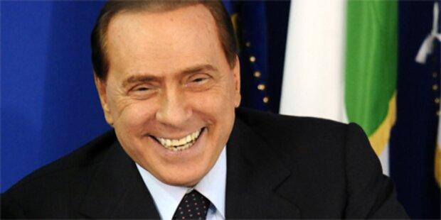 Berlusconi findet Enthüllungen witzig