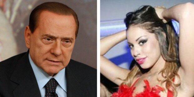 Stolpert Berlusconi über diese Schönheit?