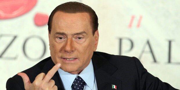 Berlusconi: Zu 4 Jahren verurteilt!