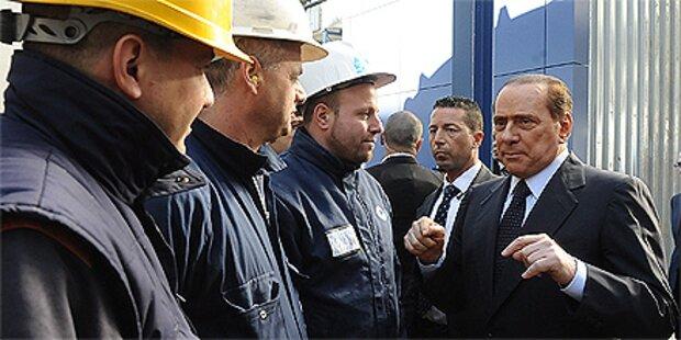 Berlusconi stoppt Bau der Mülldeponie