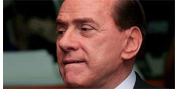 Erste Niederlage für Berlusconi im Parlament