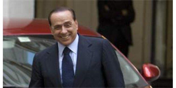 Berlusconi will CD mit Liebesliedern aufnehmen