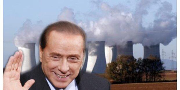 Berlusconi will wieder Akws bauen