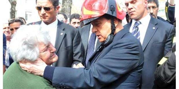 Berlusconi will Erdbebenopfer aufnehmen