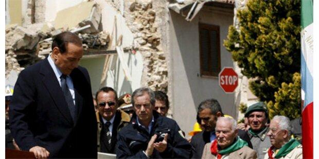 Berlusconi empfiehlt Bebenopfern Ikea