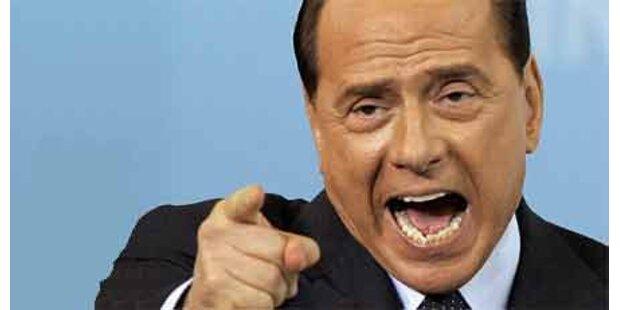 Berlusconi wittert Komplott der Linken