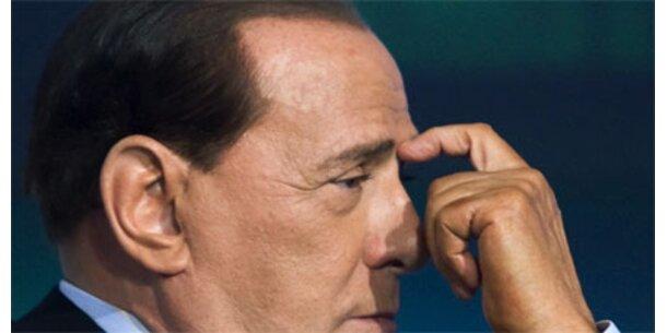Gewerkschaft uneins mit Berlusconi