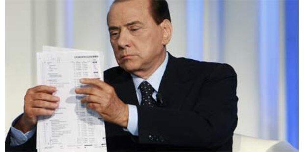Berlusconi beschwert sich über Medien