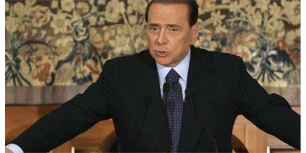 Berlusconi will Gaddafi zur Rede stellen
