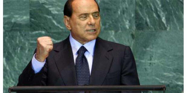 Berlusconi muss 750 Mio Strafe zahlen