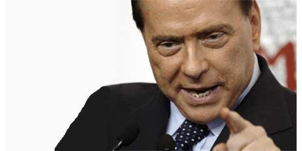 Berlusconi über Strafe empört