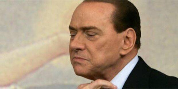Bruch in Berlusconis Regierungspartei