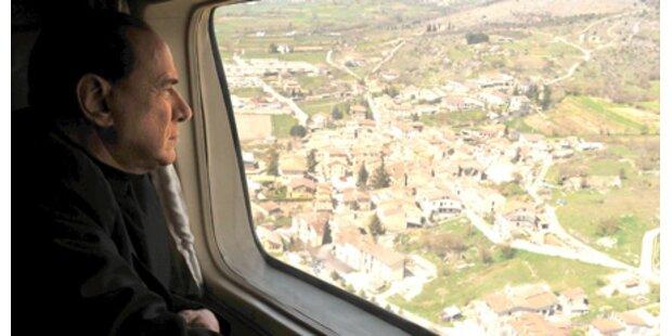 Berlusconi schickt Obdachlose ans Meer