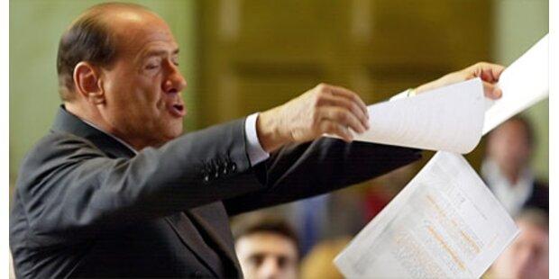 Berlusconi wettert gegen Napolitano