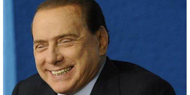 Berlusconi in