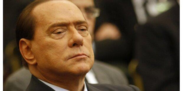 Richter protestierten gegen Berlusconi