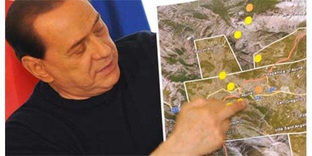 Berlusconi für G-8-Gipfel in L'Aquila
