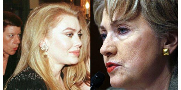 Hillary und Veronica Berlusconi rechnen ab