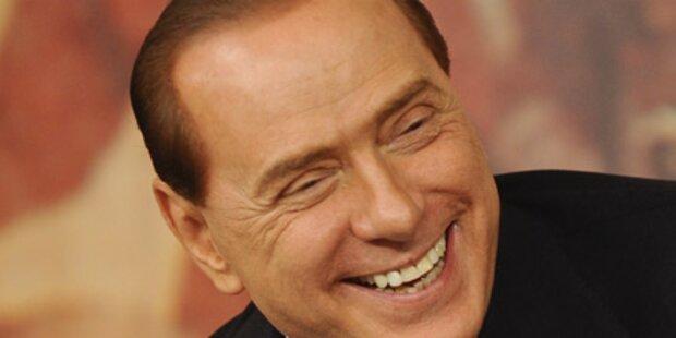 Berlusconi presste Sparpaket durch