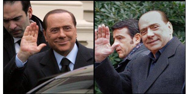 Italiener rätseln über Berlusconis Haare