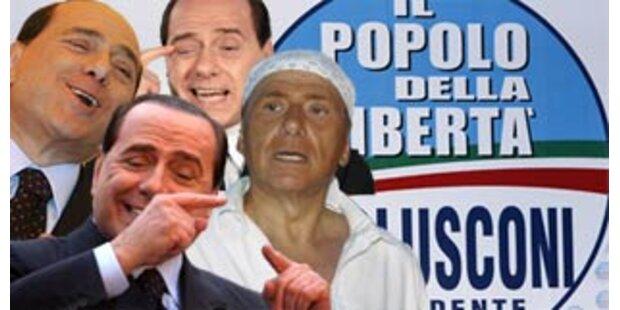 Berlusconi spricht Latein wie Julius Caesar