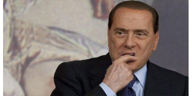 Berlusconis Popularität im Sturzflug