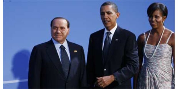 Berlusconi lästert über Obamas Hautfarbe