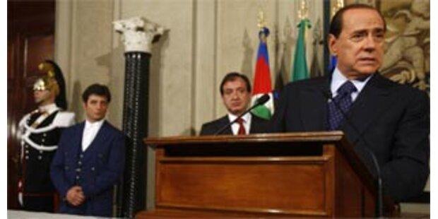 Berlusconi stellt Vertrauensfrage