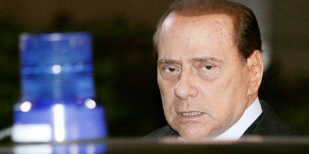 Misstrauensvotum gegen Berlusconi fixiert