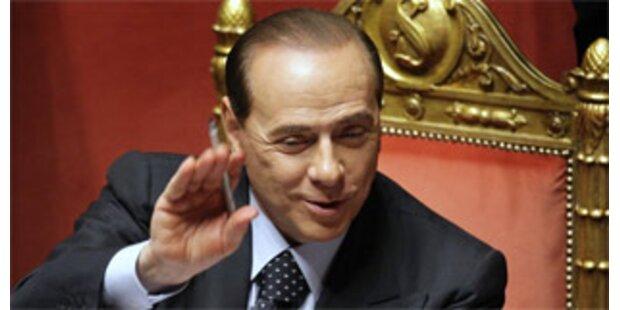 Berlusconi profitiert von neuem Anti-Terror-Dekret