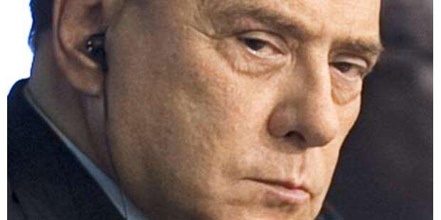 Berlusconi bangt um jüngsten Sohn