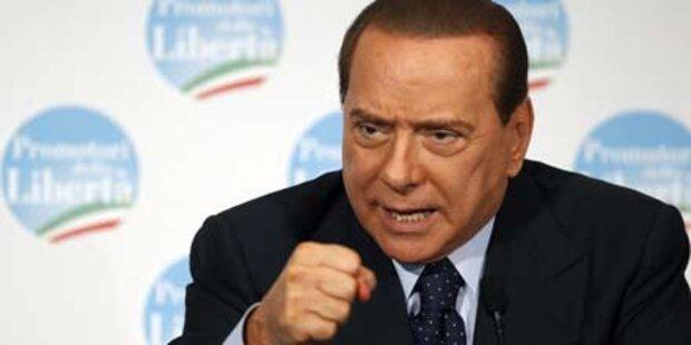 Berlusconi stellt Vertrauensfrage im Senat
