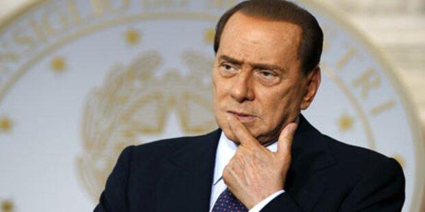 Berlusconi-Jet musste notlanden