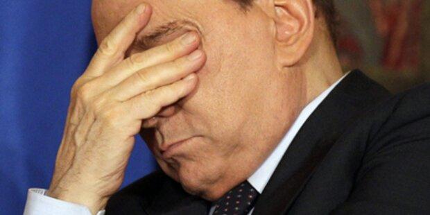 Sexaffären: Berlusconi droht mit Neuwahlen