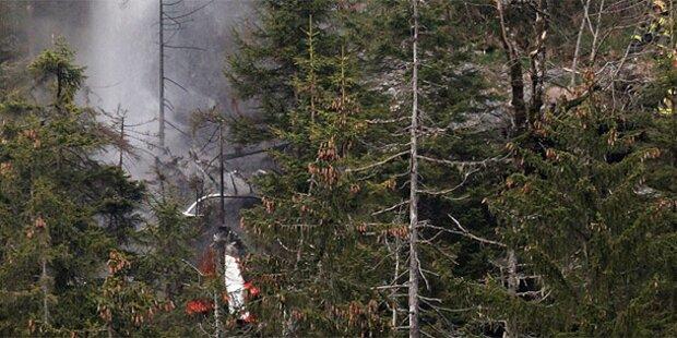 Schweiz: Drei Tote bei Hubschrauberabsturz