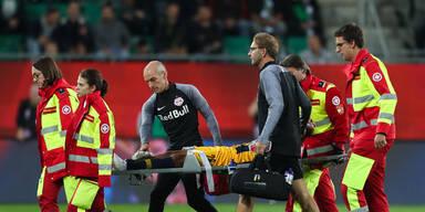 Horror-Verletzung bei Salzburg-Star