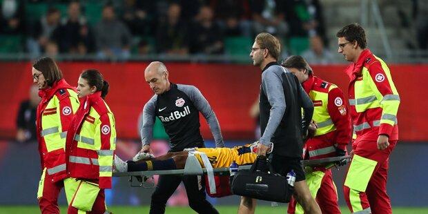 Horror-Verletzung bei Salzburg-Star Bernede
