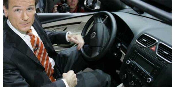 VW-Markenchef Bernhard geht