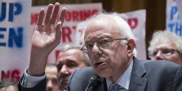 Bernie Sanders würde Militärhilfe an Israel senken