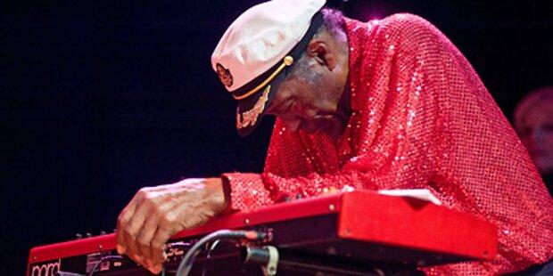 Chuck Berry brach bei Show zusammen