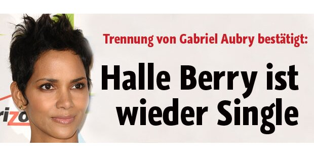 Halle Berry ist wieder Single