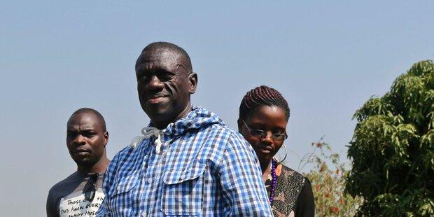 Oppositionsführer Besigye festgenommen