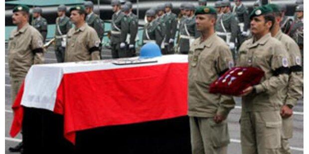 Tod der UN-Soldaten im Libanon war vermeidbar